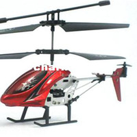 Wholesale New Mini Channel I R Remote Control RC Helicopter With Gyro Kids Toy Gift Red amp drop shipping