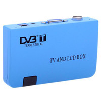 Wholesale Digital TV Box LCD VGA AV Tuner DVB T FreeView Receiver