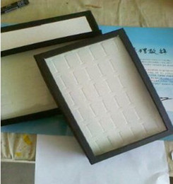 Wholesale Ring Tray Display Jewelry Studs Trays Display Holder cheap jewelry showcase case Jewelry rings holder jd1
