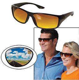 expédition mode HD Vision nuit Wrap Around plastique lunettes de soleil unisexe libre à partir de lunettes de soleil hd wrap fabricateur