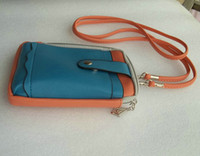 Wholesale Womens diagonal handbags purse cute packet of iphone4s phone package leathers wallet
