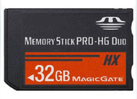 Wholesale New GB Ms Pro HG Duo Memory Sticker G MS Card For PSP Game Player Camera Camcorder PMP Phone