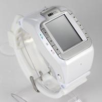 Quad lcd Avis-HOT 1.4 pouces HD écran tactile LCD N388 Quad-bande Bluetooth de 1,4 pouces écran tactile simple carte SIM Montre téléphone portable Livraison gratuite