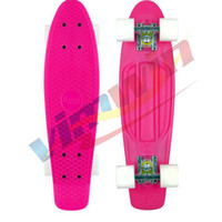 Wholesale quot Penny Original Plastic Banana Mini Crusier red Stereo Cruiser complete Skateboard