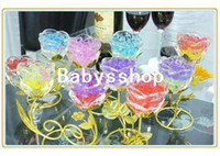 Wholesale packs New Magic Style Crystal Mud Soil Water Beads Flower Planting Plant Flower C426