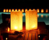 Thanksgiving   Paper Candle Lantern Wishing Lamp With Fuel candle light Wedding party Decor 10pcs lot