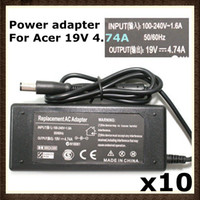 Wholesale DHL V A W AC Adapter Power Charger Notebook For Acer Gateway Aspire RW PC