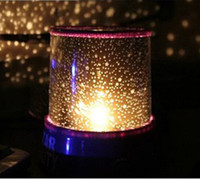 Wholesale Colorful cosmos stars laser LED projector Star Projector Lamp LED Night light lantern romantic gift