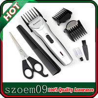 animal grooming tool - Kemei Low noise Electric Rechargeable Hair Grooming Shaver Razor Animal Pet Dog Clipper Trimmer