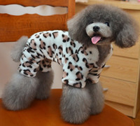 Coats, Jackets & Outerwears best protective clothing - Leopard Stripe Dogs Coat Double Side Flannel Pets Thick Dress Best for Winter Soft and Warm Dog Cat Clothes Cold Protective Clothing