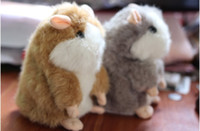 Set of 2 Mimicry Pet Talking Hamster and moving Hamster talk...