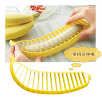 Wholesale Banana Slicer Banana Cutter Banana Chopper fruit cutter Fruit Knife