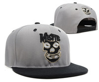 Wholesale MISFITS Cap Snapback Hat Cap Hiphop New Style caps top quality from icloud