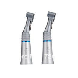 Wholesale Dental slow Low Speed Handpiece kit high precision contra angle with E Type head