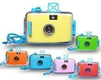 Wholesale 3 Meters waterproof camera underwater camera lomo camera with Wrist Strap Cheap camera Clearance