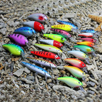 Wholesale Mix Fishing Lures Baites Minnow Crank