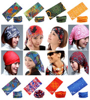 Wholesale Retail Mixed Batch Multifunctional Headwear Neck Bandana Multi Scarf Tube Mask Cap Large Number of Style