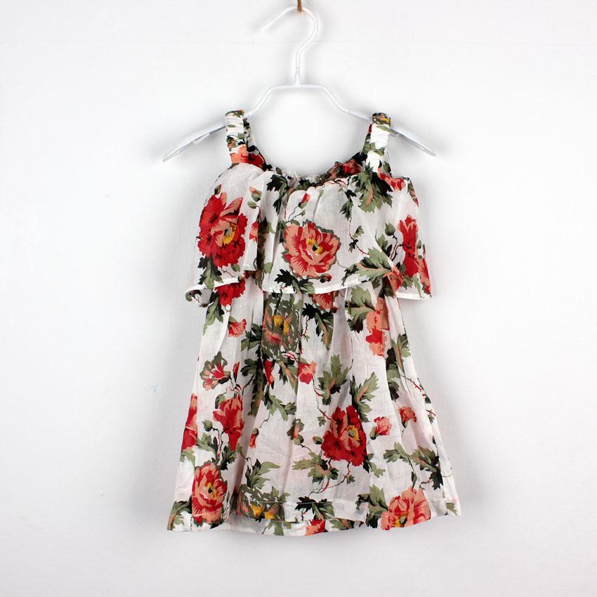 Boho Clothing Kids Floral BOHO Dresses Kids