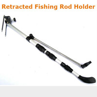 Wholesale Telescopic Fishing Rod Holder Bracket Tetractable Pole Stand Dock Fish Tackle Tool