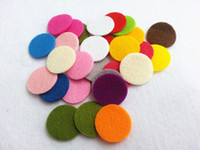 Wholesale Multiple Color For Select Round Felt Accessory Patch