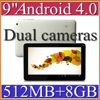 Wholesale 30pcs inch Dual camera Android Tablet PC EPAD GB GHz G WiFi P Allwinner A13 PB09