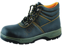 Wholesale PU Injection Leather Safety Shoes Steel Composite Toe Cap Steel Kevlar Midsole