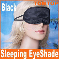 Wholesale Eye Mask Shade Nap Cover Blindfold Sleeping Travel Rest H1996