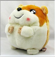 Wholesale Cute doll plush toy Hamtaro hamster mice for birthday gift and Christmas gift