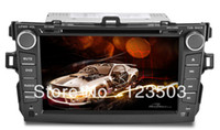 Cheap Double2din corolla Car DVD CD Player GPS IPOD Analog TV Bluetooth AM FM RDS AUX 4GB TF Card
