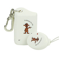 Cell Phone anti lost - Wireless Alarm Anti Lost Anti theft Security Key Chain Finder Locator Reminder White F2069B