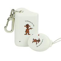 wireless security - Wireless Alarm Anti Lost Anti theft Security Key Chain Finder Locator Reminder White F2069B