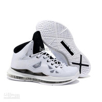 Wholesale Top Quality Mens Basketball shoes LBJS X Home in color white black at amazing cheap price USD59 per piece