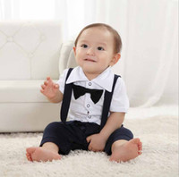 0-3T Boy Summer 2013 summer Jumpsuits baby Boys dresses clothes Sets children dress baby outfits Jumpsuits