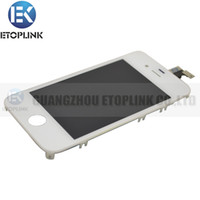 Wholesale For iphone Gen Full Complete LCD Display Screen Digitizer with frame Assembly New Replacement