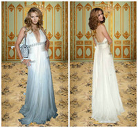 Backless Sheath/Column Other 2013 the 66th Cannes Celebrity Sexy Cheap Halter Backless White Long Sheath Greek Goddess Beach Wedding Evening Party Dresses