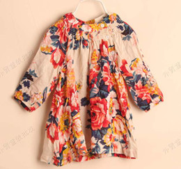 Children Clothing Long Sleeve T Shirts Fashion Printed Princess Shirt Kids Summer Round Neck Shirts Child Shirt Girls Cute Flower Shirts