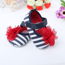 Wholesale 100 Cotton Rose Baby Girls First Walker Shoes with Soft Sole Leopard print Infants Shoes color paris