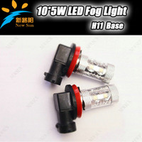 Wholesale New Arrival H11 Socket W Osram Chip High Power LED White Head Light LED Fog lights LED Auto Lamp