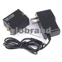 Wholesale GHJB957 Converters Audio converter Digital Optical Coax Toslink to Analog Audio Converter adapters