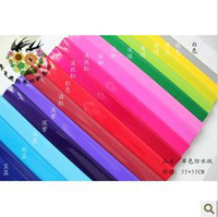 Wholesale The new flowers waterproof cellophane wrapping sanding paper