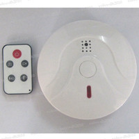Wholesale Remote Control Mini DVR Camera Smoke Detector Alarm Home Security Recorder