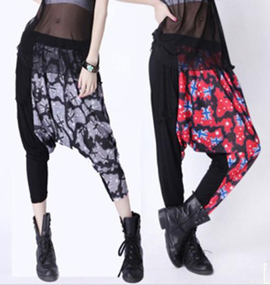 Fashion Harem Pants New Spring Plus Size