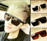Wholesale New retro fashiion Men And Women square frame glasses Wayfarer Classic Sunglasses