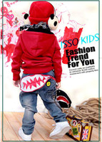 Boy 2T-3T Spring / Autumn ISSO KIDS Toddler Boys' Casual Jeans Cool Korean-Style Pants 4 Sizes Boys Clothing