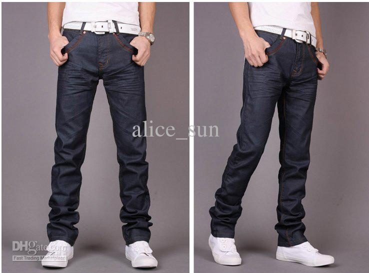 2017 2013 New Fashion Slim Straight Jeans For Men 8501 From ...
