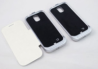 Wholesale 3200mA Backup Battery for Galaxy S4 S3 I9500 Leather Cover Stand Hottest Seller