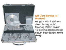 Wholesale Complete Professional Body Piercing Kit w Tools amp Jewelry