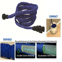 Wholesale kink Expandable amp Flexible hose irrigation Water Garden Pipe FT FT FT feet for water flowers wash car up to times UK US stantard