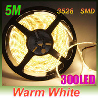 Wholesale Warm White Waterproof Light Strips M quot SMD LED Flexible Strip Lights Light Car Home Garden