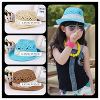 Girl Summer Crochet Hats Hot selling plait hat Girls fashionable Hat Baby Summer Hat Sun Hats Kids Cap Children girls Crochet Hats Crochet Hats free shipping